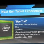 Intel Bay Trail tablet CPU spotted in the wild