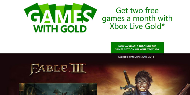 Free Xbox 360 games for South Africans