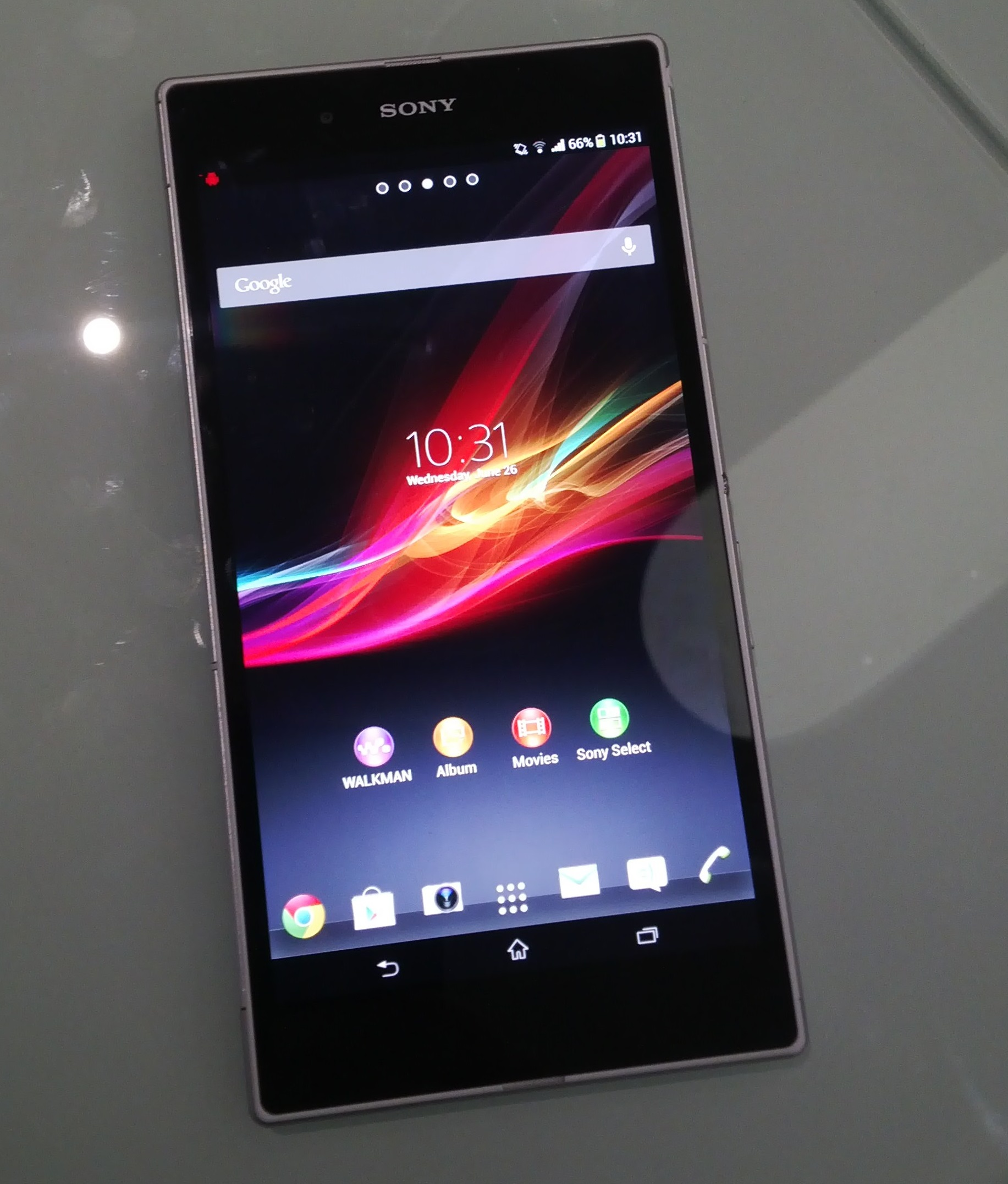 Xperia Ultra Z On Hand