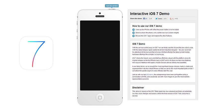 Try iOS 7 without installing it on your iPhone