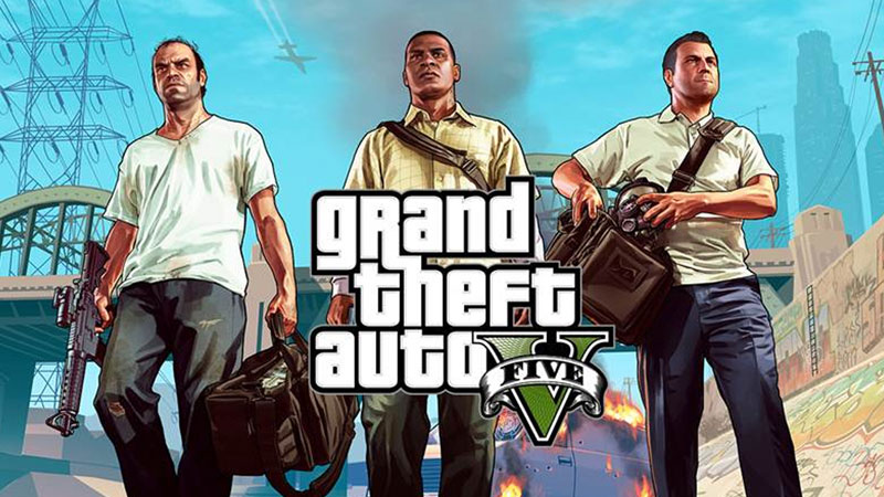 See Grand Theft Auto V in action