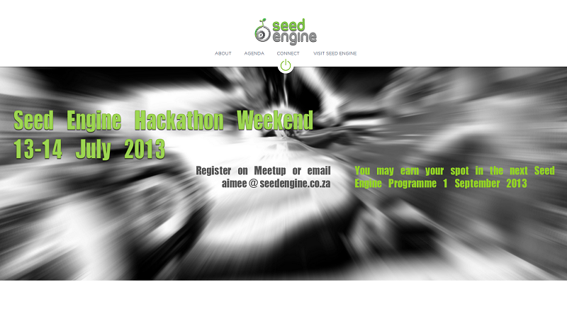 Sign up for Seed Engine's hackathon weekend