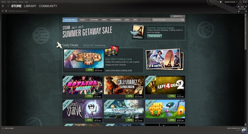 The Steam Summer Sale is here