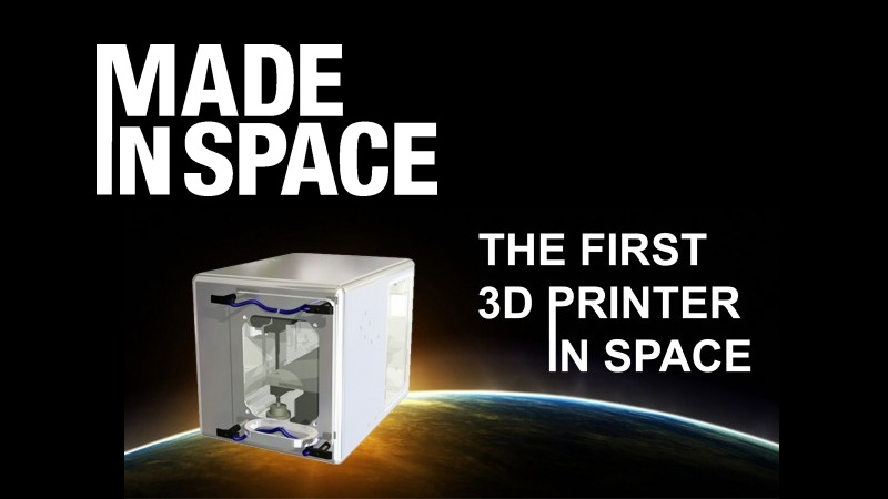 NASA takes 3D printing to space