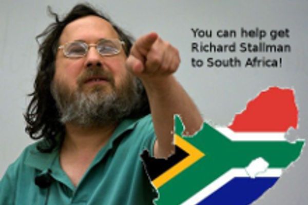 Would you crowdfund a talk by Richard Stallman in Joburg?