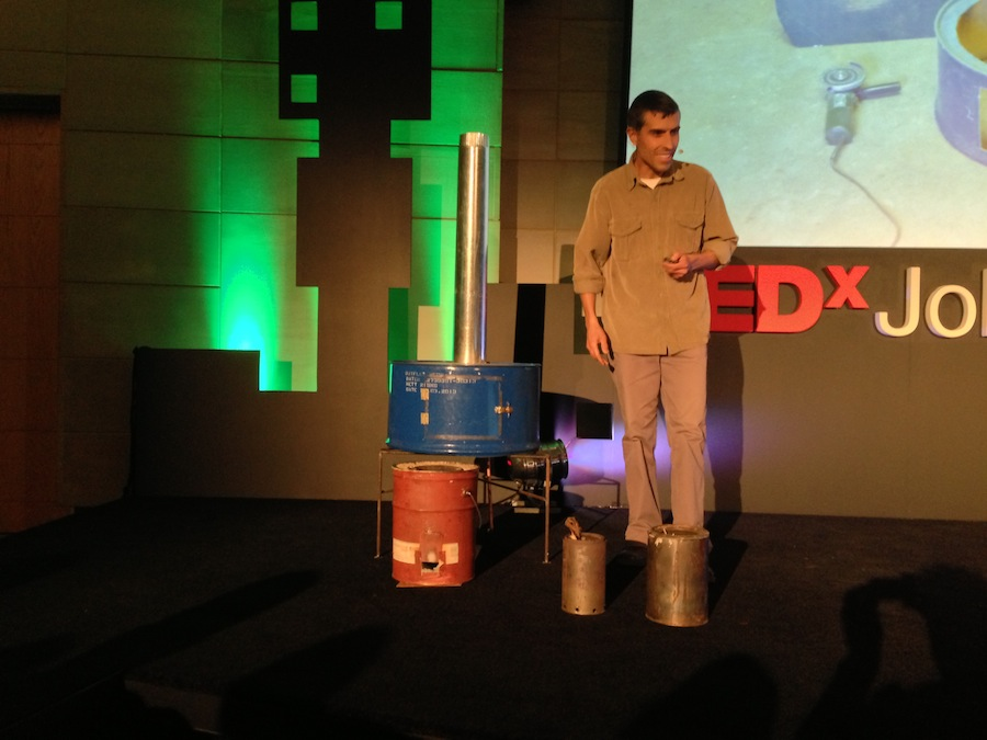TEDx Johannesburg – Meet the man who makes heaters from Coke bottles