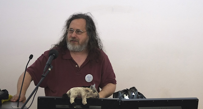 VIDEO EXCLUSIVE: Richard Stallman on Africa, PRISM, ID cards and eTolls