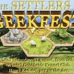 Live Settlers of Catan competition coming to Joburg Geek Fest