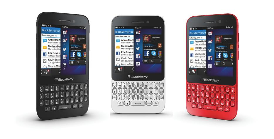 WIN! A BlackBerry Q5: The smartphone that gets you talking
