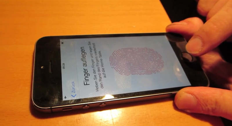 The iPhone 5S fingerprint reader beaten by tech from 2004