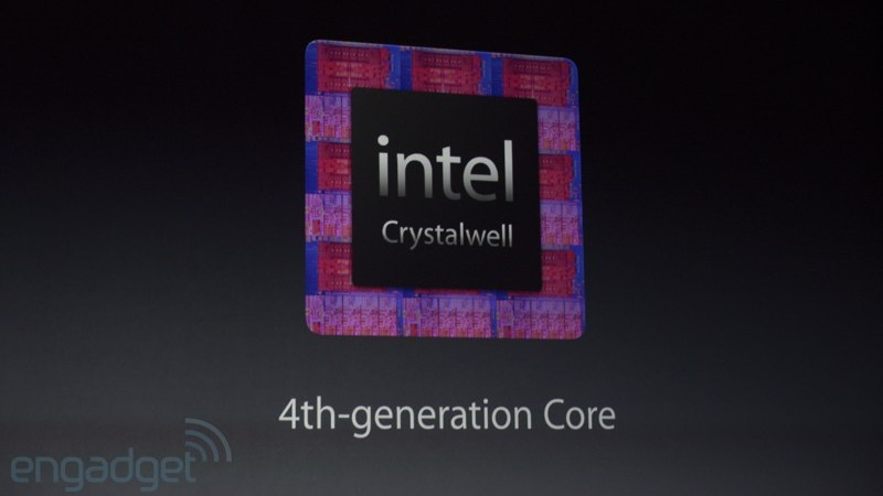What is an Intel Crystal Well processor?