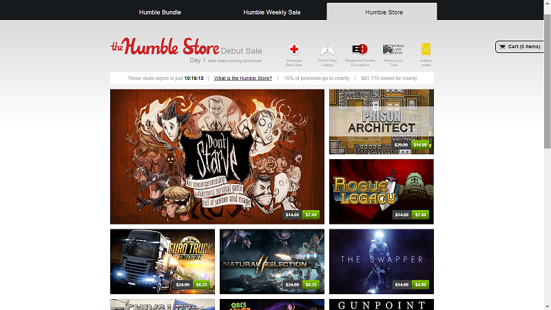 Humble Bundle now features daily sales