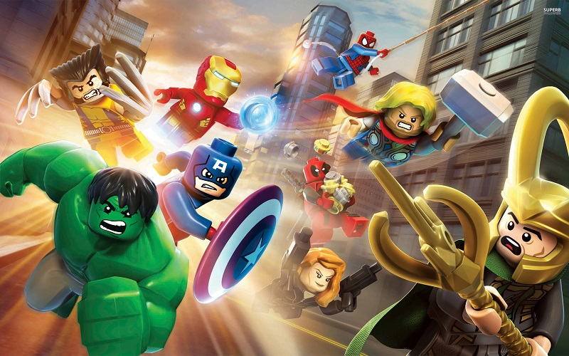 Check out this cool LEGO Marvel Super Heroes infographic