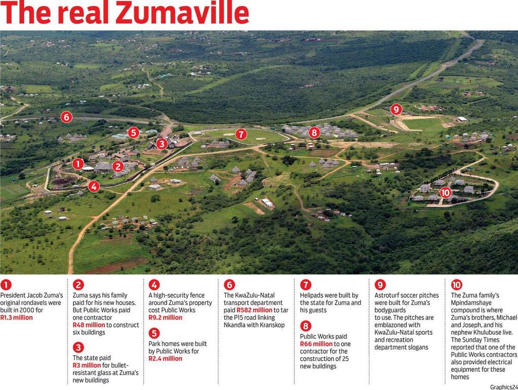 nkandla from the air new high res photos released   htxt africa