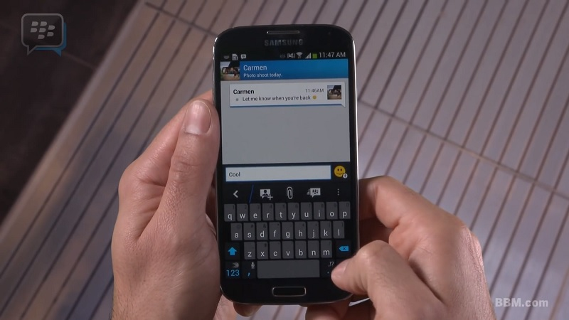 BlackBerry Messenger for Android will be preinstalled on LG phones