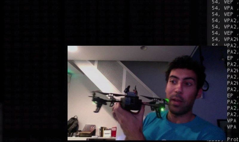 A Raspberry Pi toting drone that hacks other drones