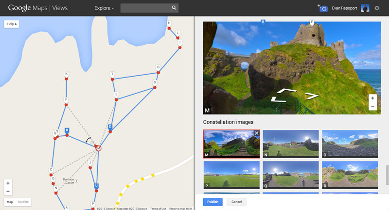 Create your own Google Street View, share it with the world