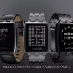 Pebble smartwatch gets shiny steel casing, free worldwide shipping