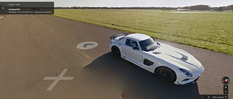 Top Gear Test Track comes to Google Street View