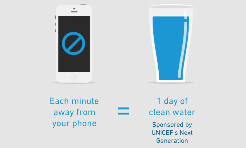 Your idle phone can help donate clean water