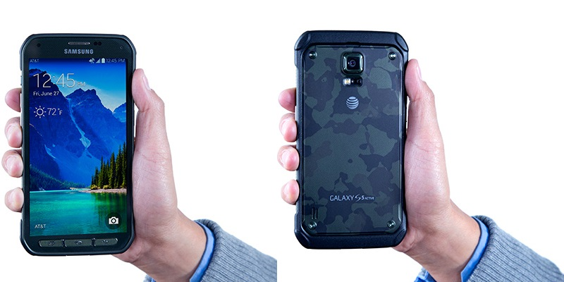 Shock resistant Galaxy S5 Active is official