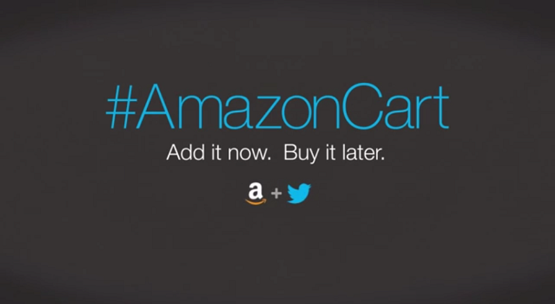 Hashtag shopping: Amazon and Twitter team up for timeline purchases