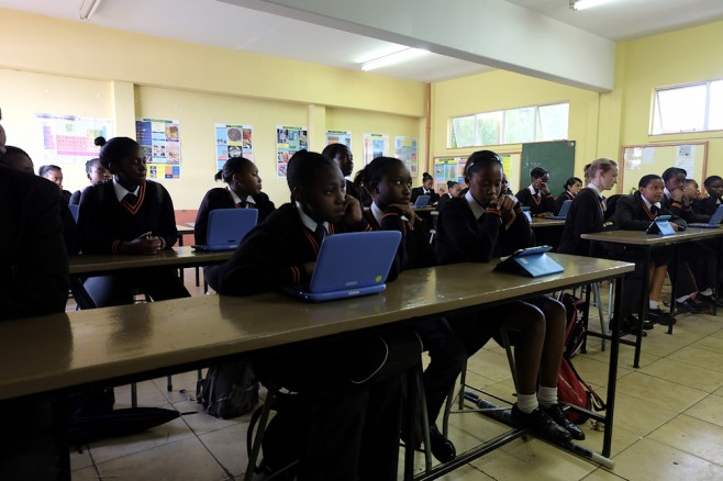 Three schools, two tablets and a terminal: can tech really save SA education?
