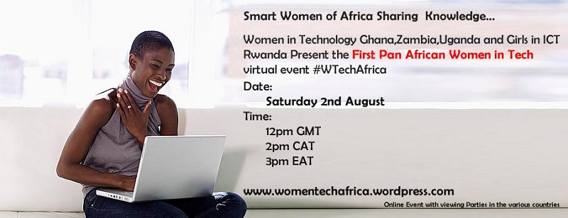 Register for the first ever Pan-African Women in Tech Meetup