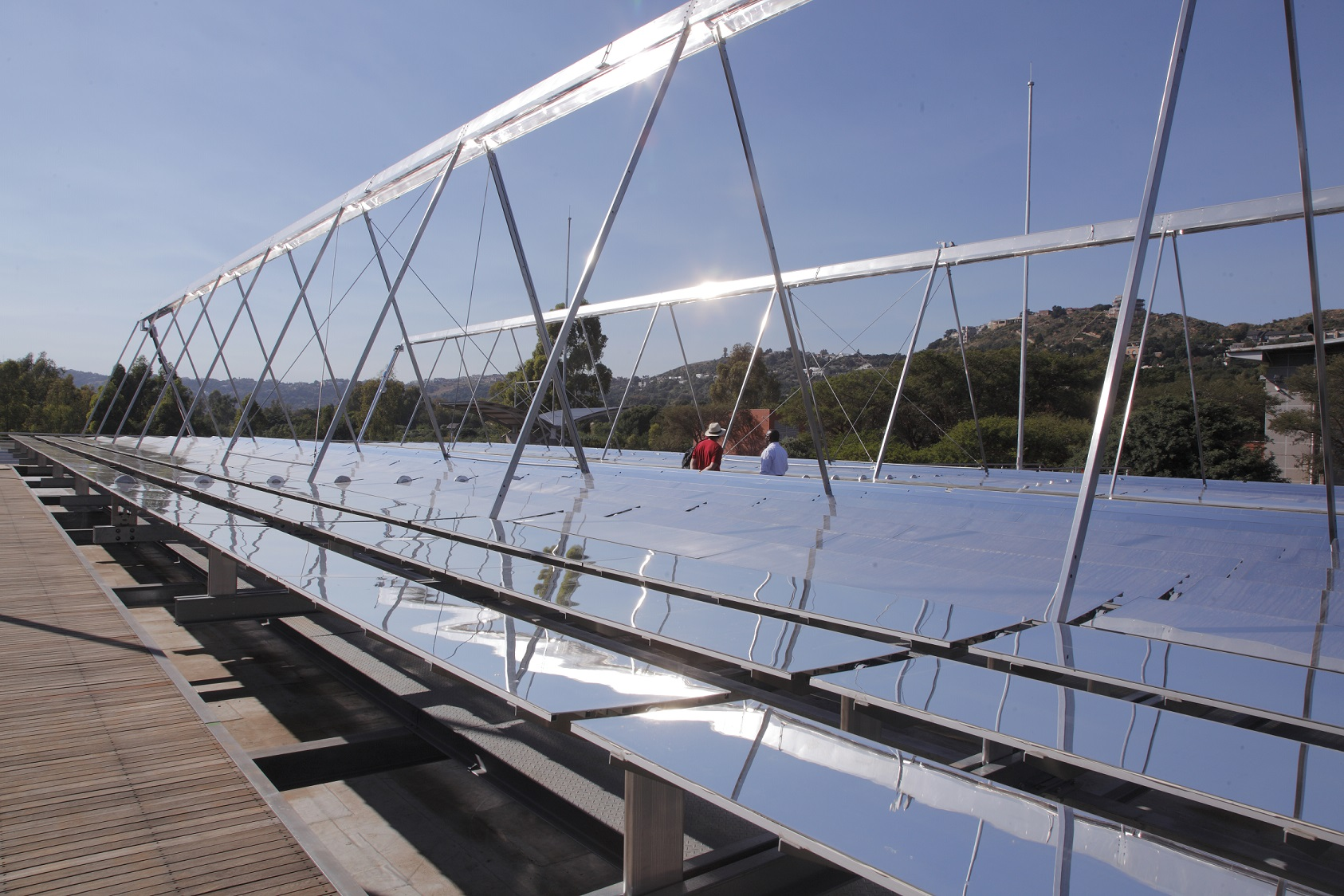 Using solar energy to power MTN's air conditioning