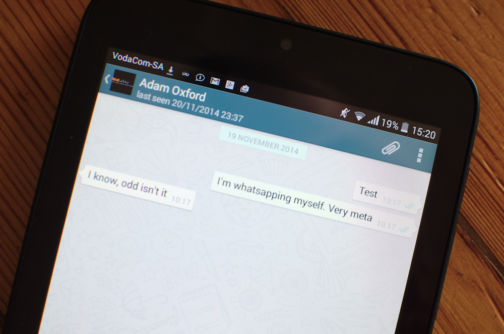 How to download whatsapp on a samsung tablet