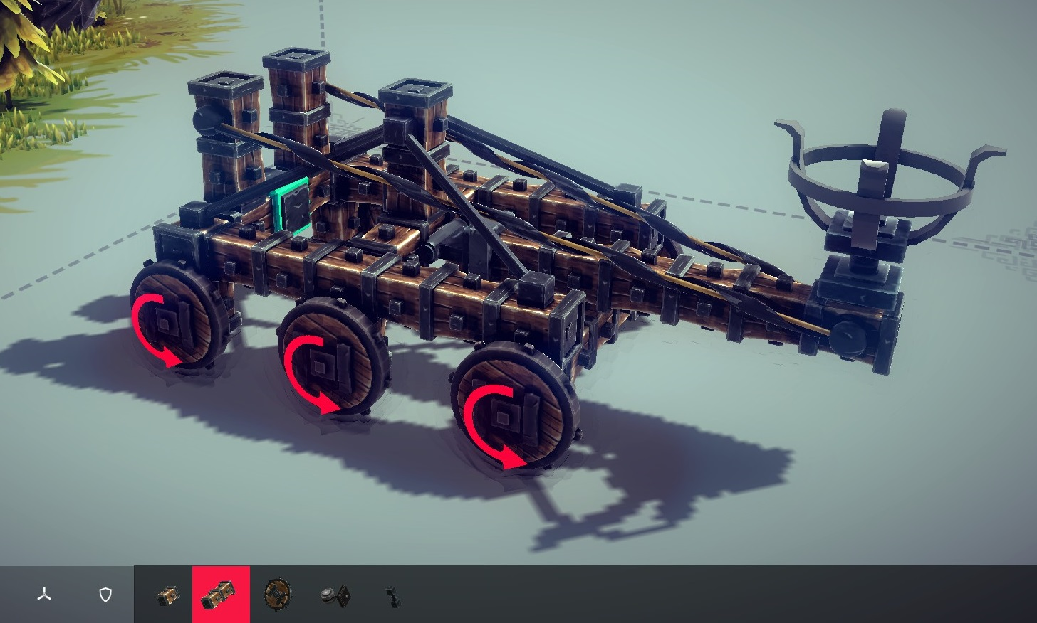 How To Build A Catapult In Besiege on Office Building Blueprints
