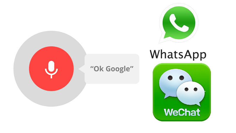 Send WhatsApp and WeChat texts on Android using OK Google ...