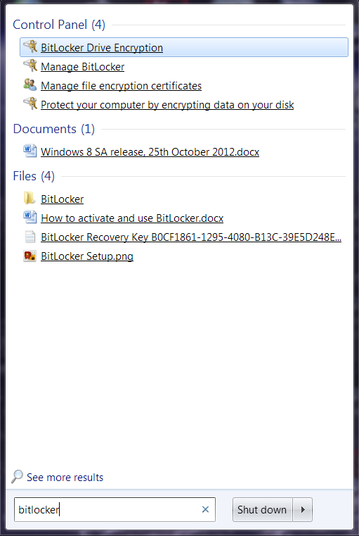 HOW TO] Protect your data with BitLocker encryption - htxt