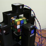 Watch a 3D printed robot solve a Rubik's Cube in only a second