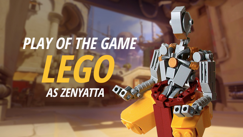 check out these overwatch heroes  recreated in lego
