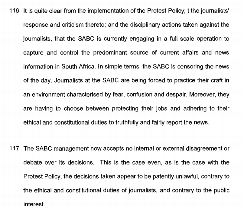 SABC journalists fired: Fair or not?