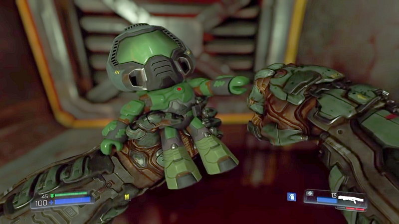 Get Your Own Doomguy Collectible Figurine By 3d Printing