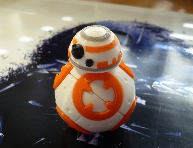 3d Printed Bb 8 Star Wars Pic 4 Htxt Africa