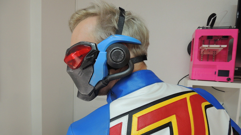 soldier 76s tactical visor 3d print complete with