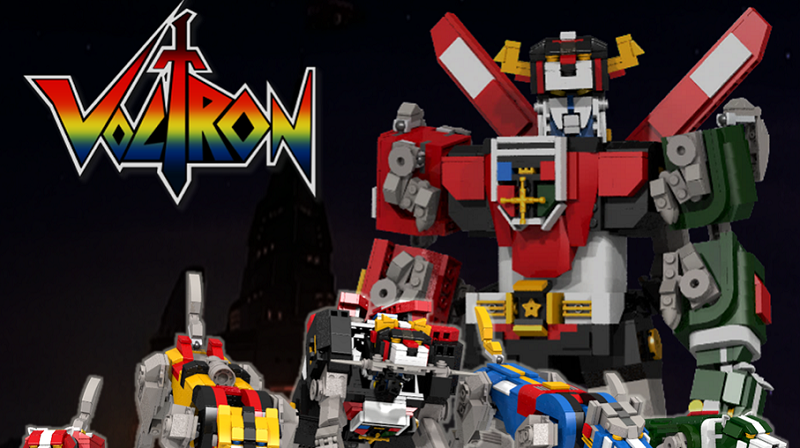lego to release an official voltron set in 2018