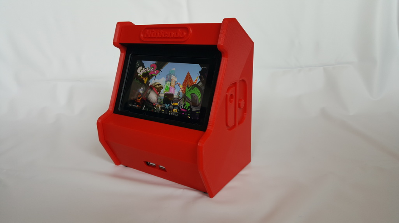 Nintendo switch 3d printed arcade cabinet pic 5 for 3d printing kitchen cabinets