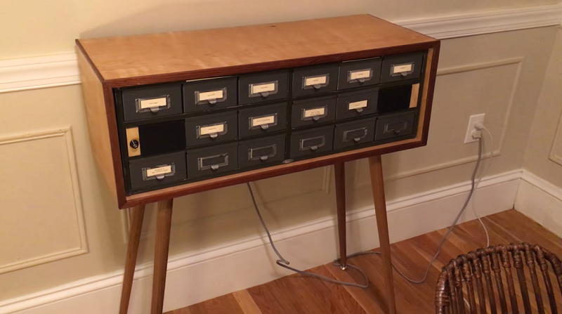 This audio memory chest marries an Arduino and a card catalogue - htxt.africa