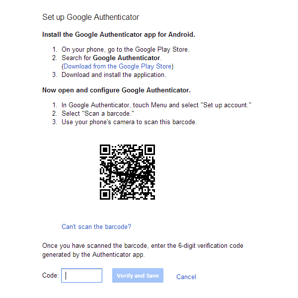 How to set-up up two-factor authentication - htxt africa