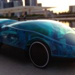 Water-powered remote control car doesn't need batteries