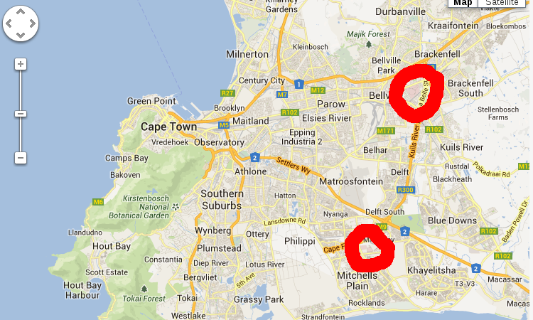 Telkom LTE coverage map for Cape Town. Perhaps not quite a viable alternative to ADSL yet?