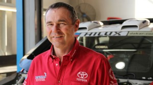 Glyn Hall, team principal for Toyota Motorsport SA.