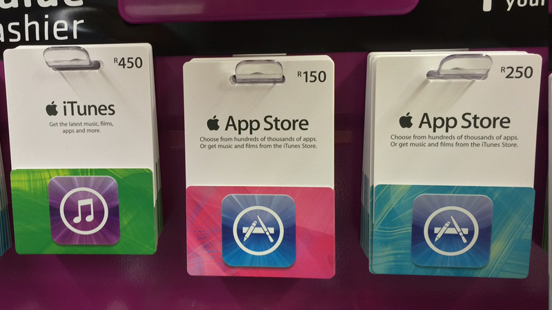 iTunes Gift Cards go on sale in South Africa - htxt.africa