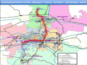 The proposed rail 'super corridor' which would become part of a properly integrated network.