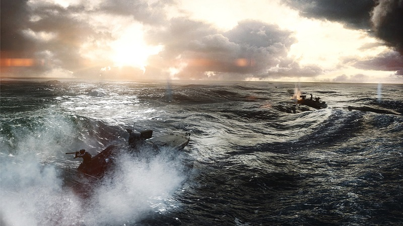 Battlefield 4 - Angry Sea naval combat