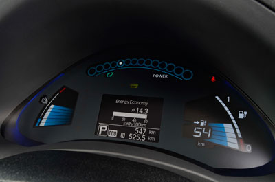 A digital dash - but will it look cheesy a decade from now?